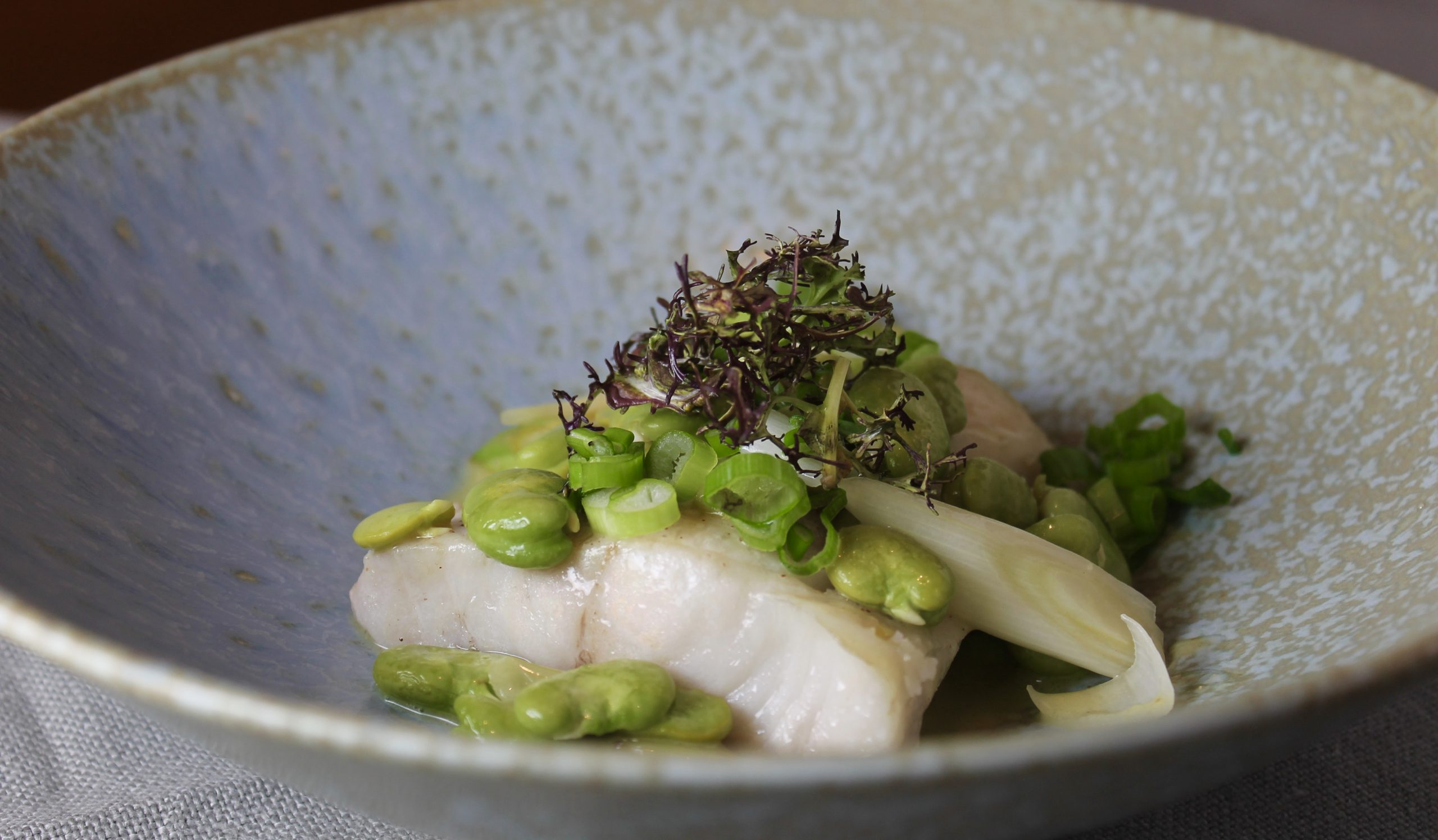 Black Cod And Fava Beans (And On Beans And Paleo)