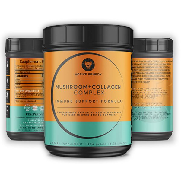Active Remedy Mushroom+Collagen